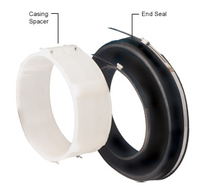 casing spacer and end seals canada