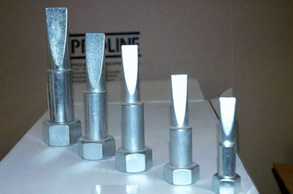 Mulitple flange alignment pins