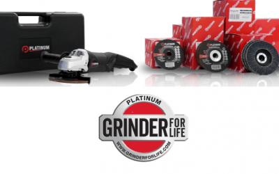Grind 30% Longer & Faster With Platinum Grinding Discs