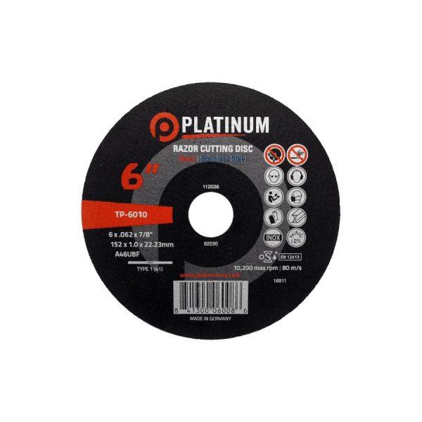PLATINUM CUTTING DISC -6010
