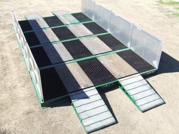 Enviro-pads 200 ton rated washstation